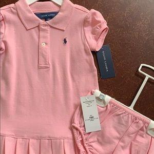 Ralph Lauren Dresses - Brand New Ralph Lauren 18 mo Girls Tennis Dress